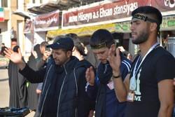 آستارا سرحد پر غیر ملکی زائرین اربعین کی عزاداری