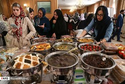 A group of spouses of foreign-diplomats in Tehran participated in a gastronomy and handicrafts festival, which was hosted by the Ministry of Foreign Affairs on October 18, 2018.