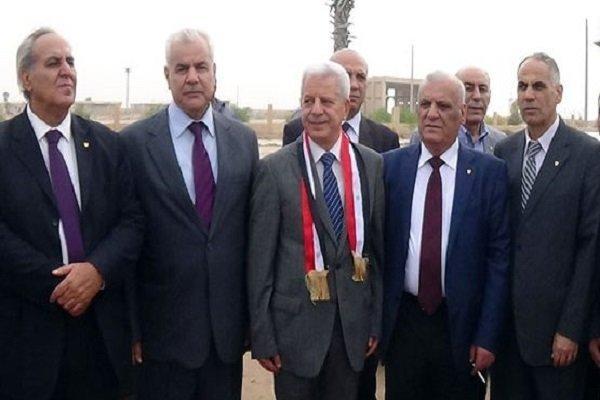 یک هیأت اردنی از گذرگاه مرزی «نصیب» وارد سوریه شد