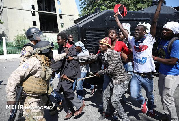 اعتراضات علیه فساد در هائیتی