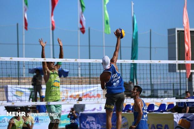 تیم های والیبال ساحلی ایران به تایلند سفر کردند