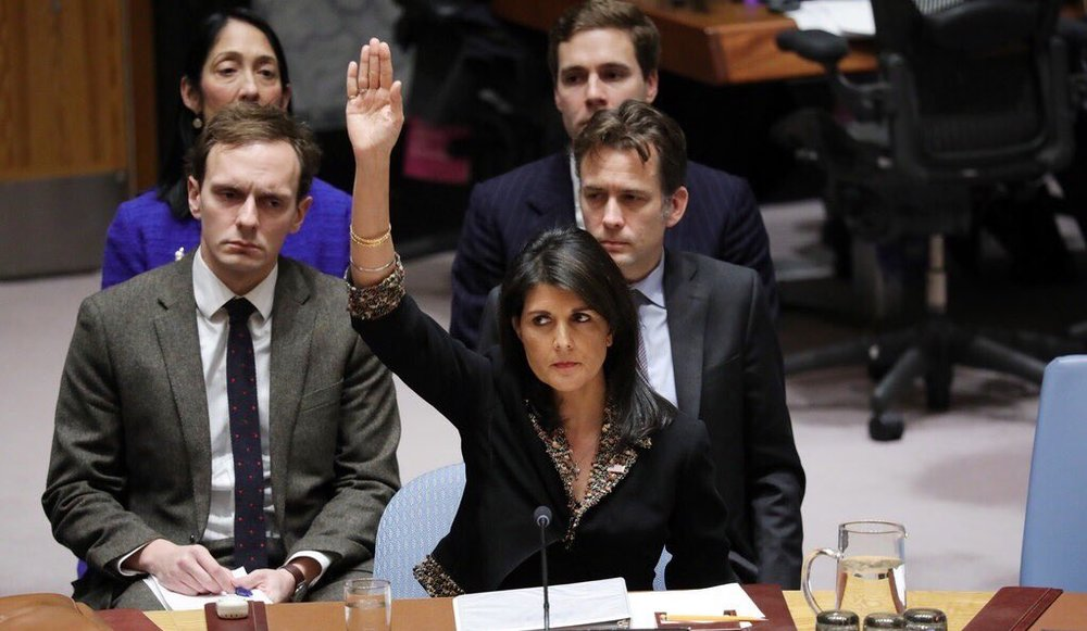 Nikki Haley left the UN