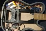تولید گیتار دارای پورت یو اس بی با چاپگر سه بعدی