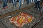 VIDEO: Train mows down crowd in India, kills at least 60