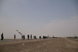 زوار از مسیر های تعیین شده حرکت کنند/برخود پلیس عراق با متخلفان