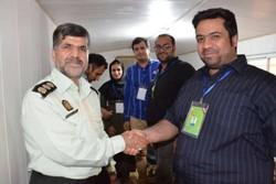 تقدیر رئیس بازرسی معاونت اجتماعی ناجا از خبرنگاران مستقر در شلمچه