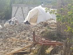 «چادر» پناهگاه زلزلهزدهها در شبهای پاییزی