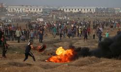 حمله صهیونیست ها یک شهید و دست کم ۵ مجروح بر جا گذاشت