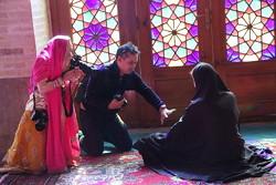 حضور گردشگران خارجی در مسجد نصیرالملک شیراز