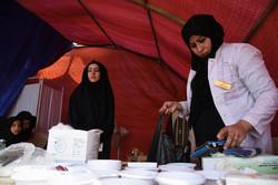کاروان خادمان سلامت اربعین در مازندران بدرقه شدند