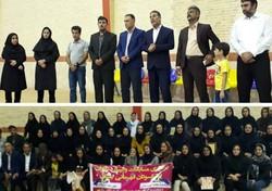 مسابقات والیبال پیشکسوتان بانوان استان بوشهر پایان یافت