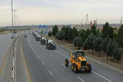 مشکلی در پایانه مرزی مهران وجود ندارد/ آماده باش راهداری استان