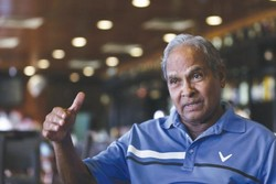 Iran football federation sends condolences over the death of Peter Velappan