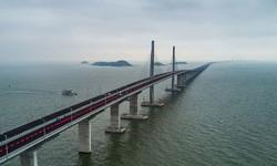 چینی صدر نے دنیا کے سب سے طویل پل کا افتتاح کردیا