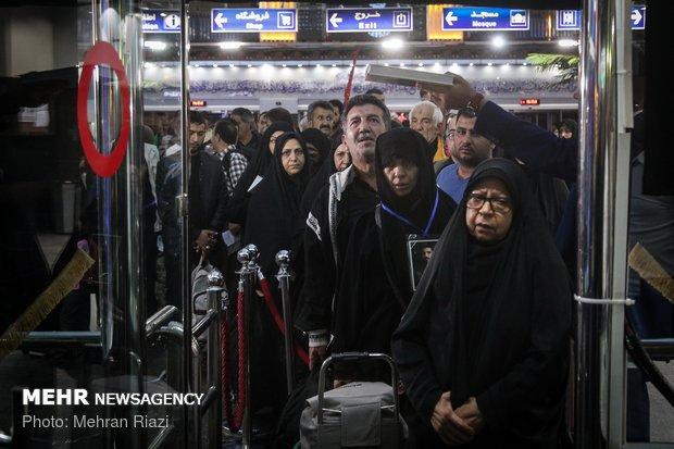 اعزام اولین گروه از زائران اربعین با قطارانطلاق أول قافلة زوار عبر القطار من طهران للمشاركة بالأربعين الحسيني