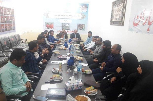 تعامل با فعالان سیاسی و اجتماعی در شهرستان دیر تقویت میشود