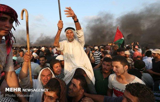 Filistin'de Manama'daki çalıştaya karşı gösteri düzenlendi