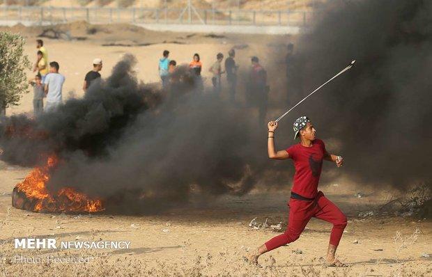 شهادت جوان فلسطینی به ضرب گلوله نظامیان صهیونیست,