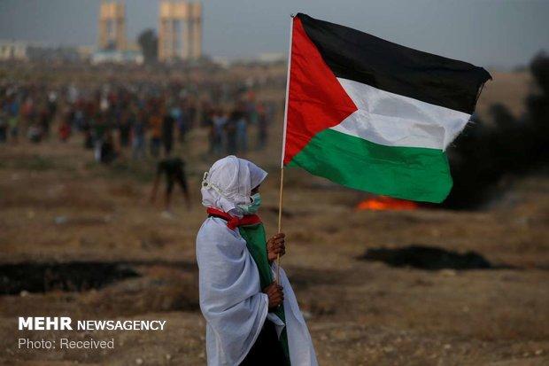 غزہ میں وطن واپسی کی ریلی پر اسرائیلی فائرنگ سے 1 فلسطینی شہید 7 زخمی