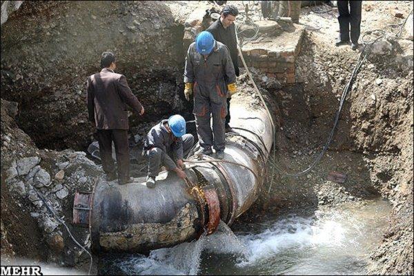 طغیان رودخانه دلیل شکستگی و قطعی آب روستاهای رامهرمز