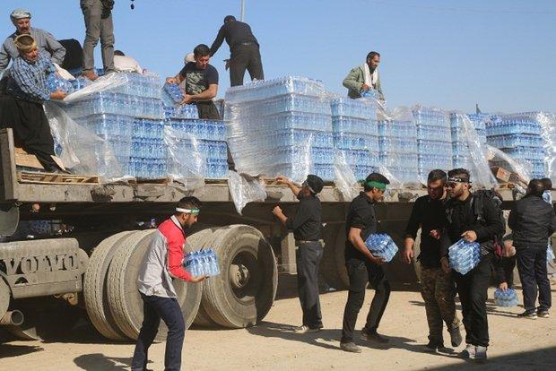 ۶۰ هزار بطری آبمعدنی برای زائران اربعین حسینی تهیه و ارسال شد
