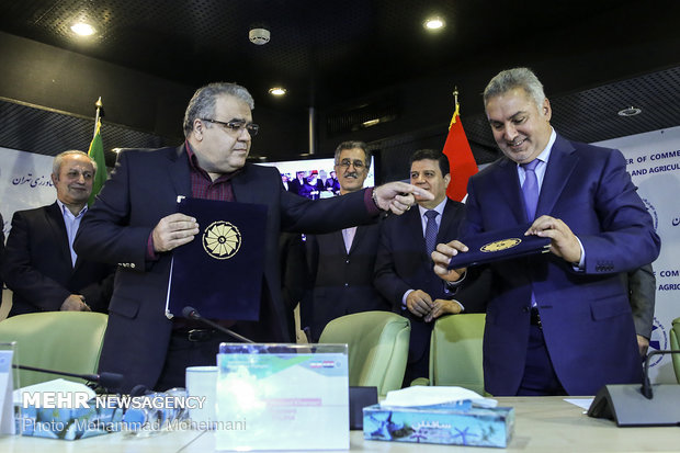 هIran, Syria hold business forum in Tehran