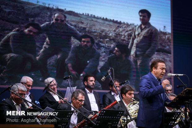 تجلیل از اعضای ارکستر سمفونیک تهران در دوران دفاع مقدس