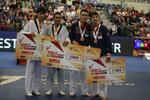 """الايراني """"هادي بور"""" يحصد ذهبية الجائزة الكبرى بالتايكواندو"""
