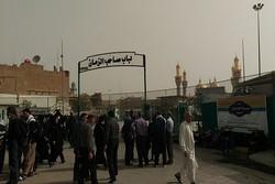 ۴۰ نیروی خدماتی از شهرداری های خراسان جنوبی به کاظمین اعزام شدند