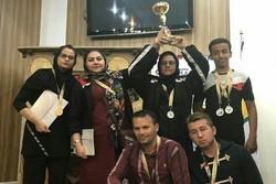 کردستان با هفت نشان رنگارنگ مقام دوم تیمی را کسب کرد