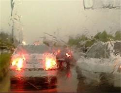 جاده های لرستان به دلیل بارش در ساعات آینده لغزنده می شود
