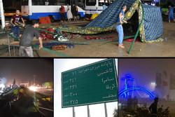مسیر ایلام-مهران بسته شد/یک کشته و ۱۵ مجروح/متوقف شدن تردد زوار