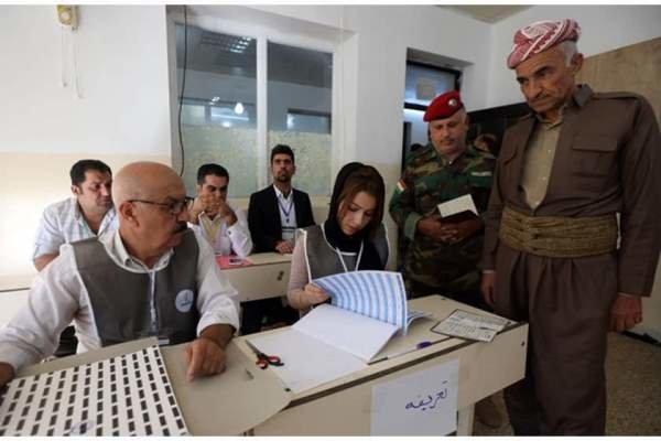 Irak Kürdistanı'nda seçim sonuçları açıklandı