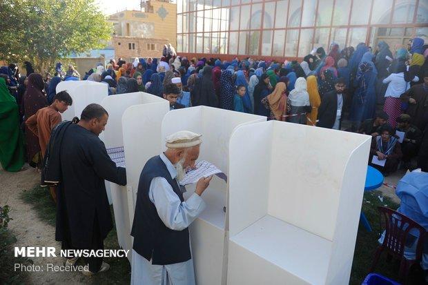 Afganistan'daki seçimlerden fotoğraflar