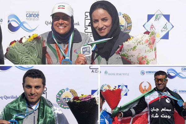 إيران حصلت على البطولة الاسيوية للباراكانو في التجذيف