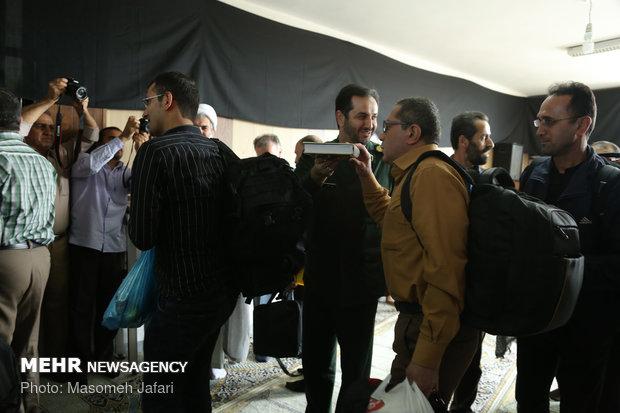 اعزام کاروان سلامت استان مازندران به کربلای معلی