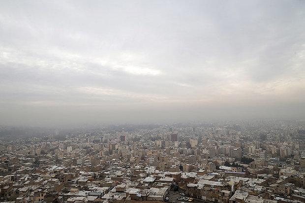 هوا آلودهتر میشود/ آغاز بارندگی از یکشنبه