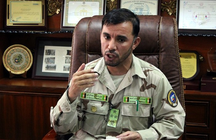 Top Afghan commander's killing raises questions