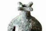 رونمایی از انار باستانی مفرغی در بهشهر
