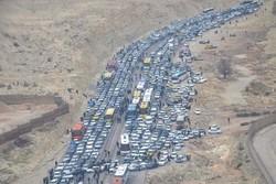 تردد در مسیر ایلام-مهران با ترافیک همراه است