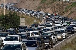 ۶ برابر شدن حجم تردد در جادههای کرمانشاه