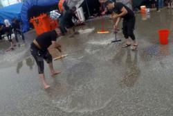 بارش باران و آبگرفتگی در خیابان های کربلا