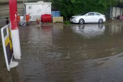 کربلا معلی کی سڑکوں پربارش کے بعد پانی جمع ہوگیا