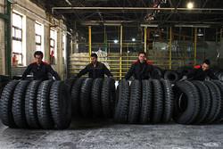 توزیع ۲۵۰۰ حلقه لاستیک بین ماشین های سنگین در ایلام