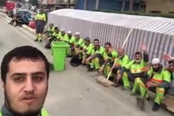 درباره ویدئوی طنزی که سروصدا کرد/ آشغال جمع کردن افتخار ماست!
