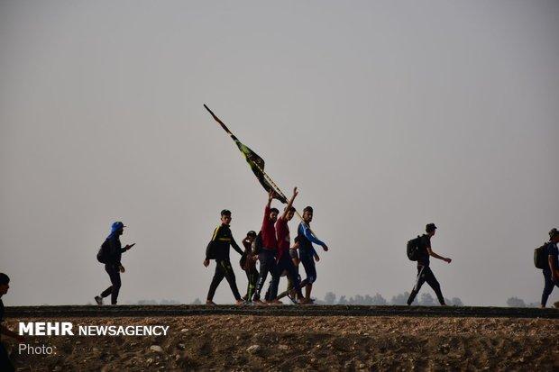 ۲۵۰ مددجوی کمیته امداد سمنان راهی سفر اربعین میشوند