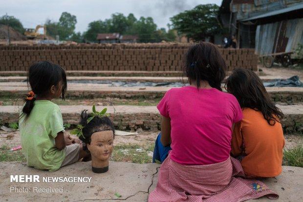 تاثیر گرم شدن زمین بر کشاورزان کامبوج