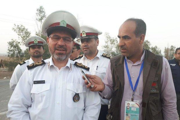 آخرین وضعیت ترافیکی در مرز مهران