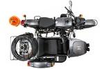 موتورسیکلتی که سکوی پرتاب و کنترل پهپاد است