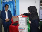 انتخابات شورای دانش آموزی در مدارس شهرستان دشتی برگزار شد